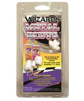 Metal Buffing Kit - 4 piece