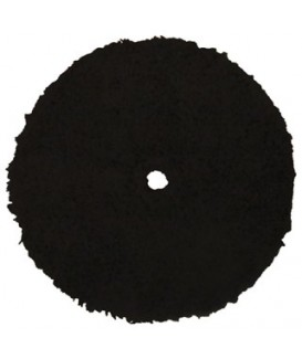 Polisher Black Microfiber Cutting Pad, 6""