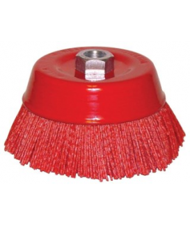 NYLON CUP BRUSH 6""