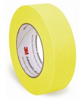 "1.5"" MASKING TAPE - YELLOW"