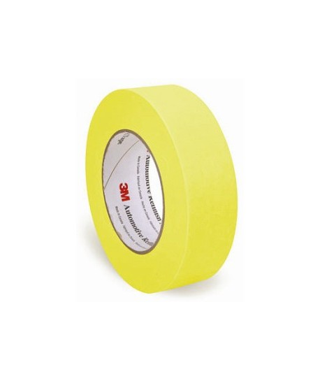 "1.5"" MASKING TAPE 24 ROLL PER CASE - YELLOW"