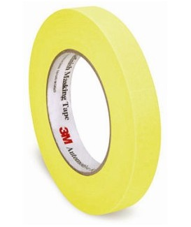 "3/4"" MASKING TAPE 48 ROLLS PER CASE - YELLOW"