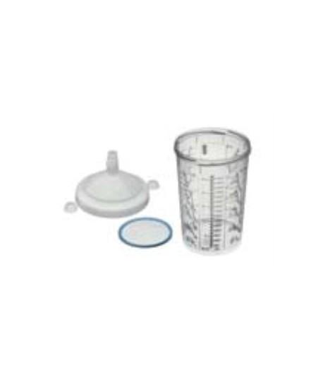 RPS CUP - .9L FLAT SIEVE 125 MICRON WATERBORNE