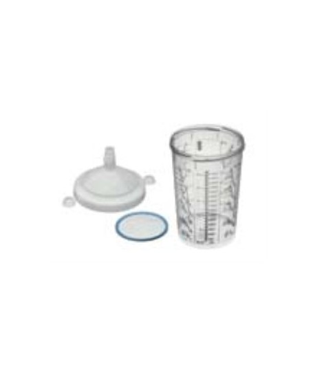 RPS CUP - .6L FLAT SLIEVE 125 MICRON WATERBORNE