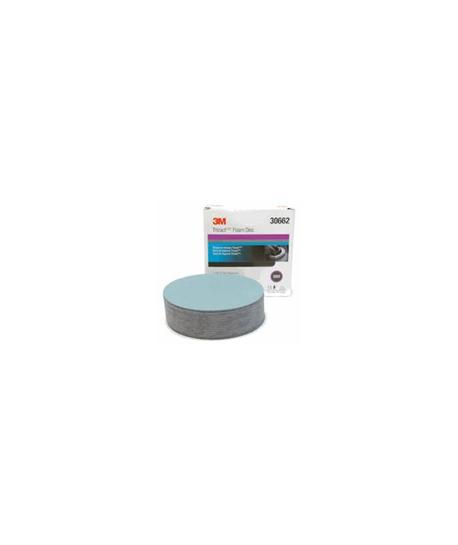 """5000G TRIZACT HOOK-IT FOAM DISCS BOX/15 - 6"""""""